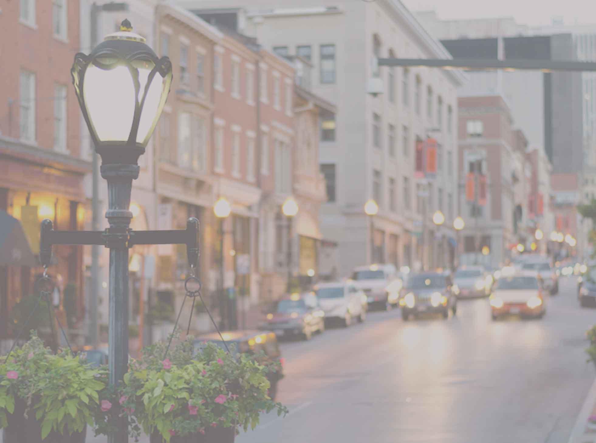 Baltimore street light